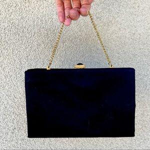 Vintage 60s satin handbag